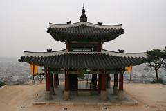 guard post at the top of the mountain (lynnith) Tags: korea hwaseong suwon