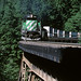 BN 7912, Foss River Bridge, Stevens Pass, July 22, 1997