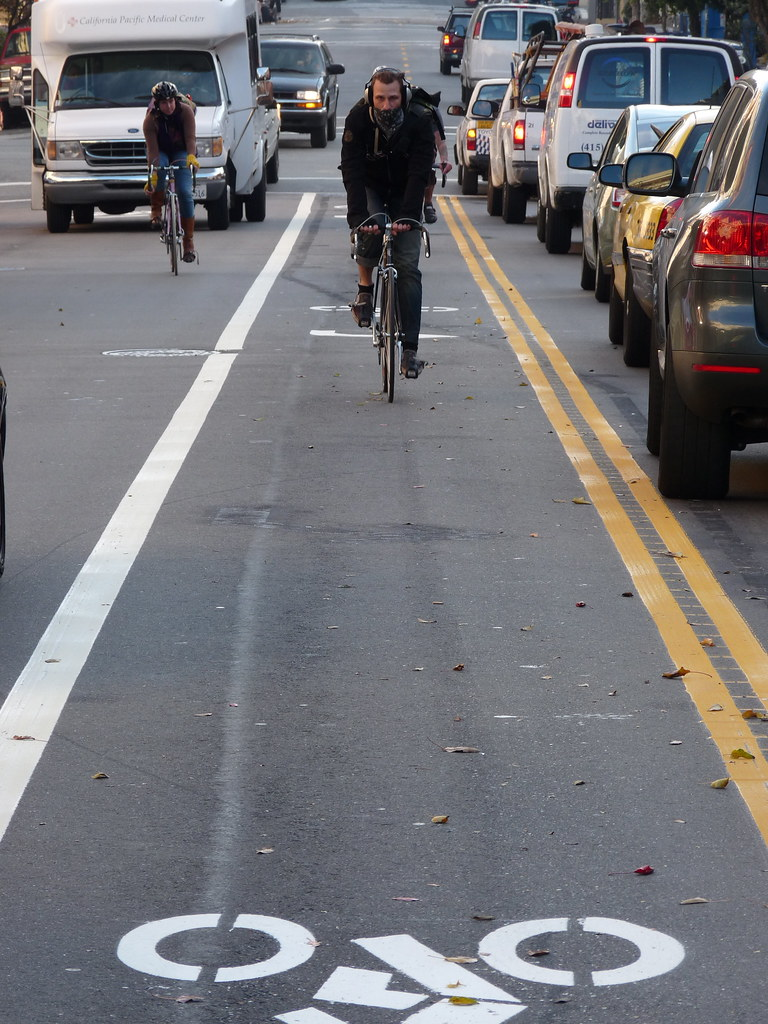 First New Bike Lane In Years!!!!