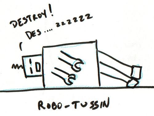 366 Cartoons - 297 - Robo-tussin