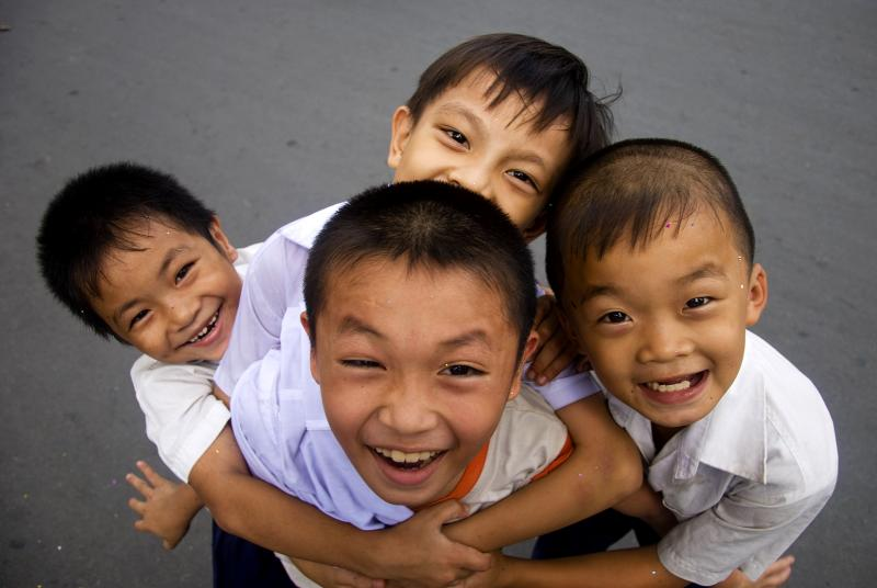 Happy Kids at hcm city