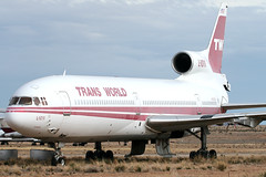 TWA Lockheed L-1011 Tristar N31023 (Flightline Aviation Media) Tags: arizona airplane canon20d aircraft aviation jet lockheed tristar twa l1011 stockphoto kingman igm transworldairlines n31023 bruceleibowitz 1337015