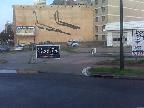 John Georges sign
