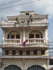 Lion Statues - Vientiane, Laos
