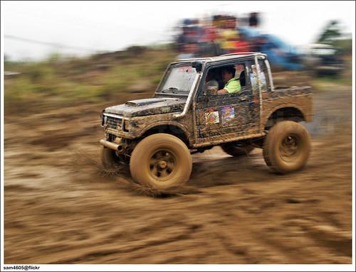 Kundasang 4x4 Novice Challenge - Suzuki Jimny panning