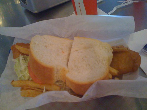Primanti's Colossal Fish Sandwich