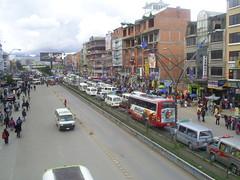 la ceja, congestio vehicular (vocesbolivianas) Tags: bolivia elalto