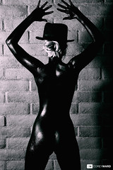 Moments of Mystery (Corey Ward) Tags: black mystery jocelyn painted bodypaint mysterious