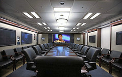 THE SITUATION'S SITUATION ROOM (APOLOGIES TO CHRIS MORRIS) (whileseated) Tags: photoshoppery