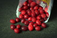 cranberries from the freezer