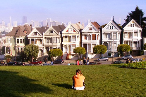 Alamo Square (The Painted Ladies of Steiner Street)