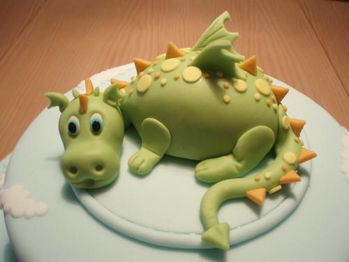 DRAGAO/DRAGON CAKE TOPPER