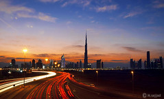 BURJ DUBAI (M.sajjad ( artist dubai )) Tags: dubai burj