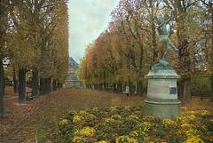 An Old Passion. (itala2007) Tags: trees paris nature statue garden itala2007 worldsartgallery