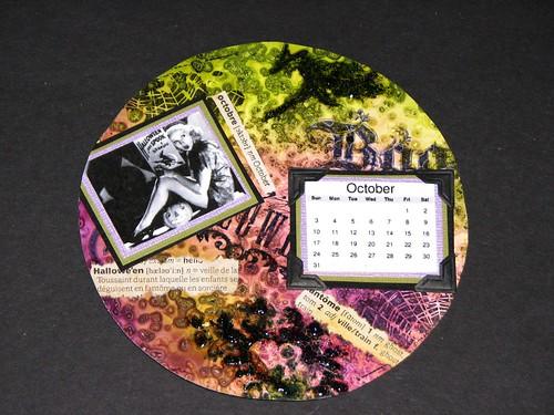 cd calendar - october 011