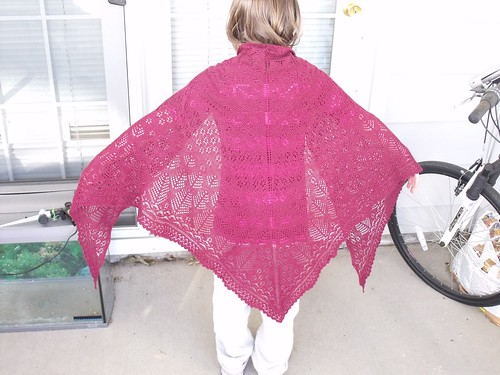 Whispering Pines Shawl