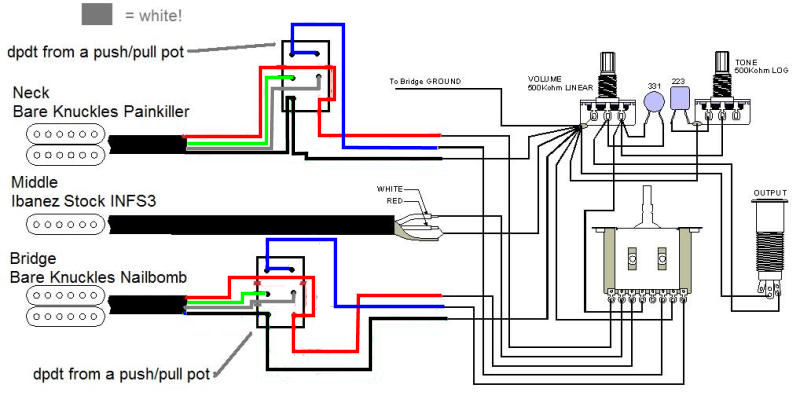 humbucker wiring diagram 3 way switch images ibanez dimarzio wiring diagram ibanez wiring diagrams for car