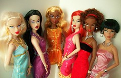 Divas  of  Monsieur Z (napudollworld) Tags: fashion toys barbie collection size z royalty integrity monsier