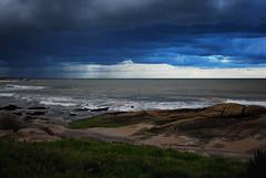 mar y tormenta (___Felipe___) Tags: del uruguay mar playa punta tormenta diablo rocas