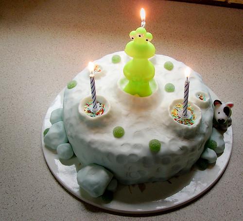 Moonbase Cake