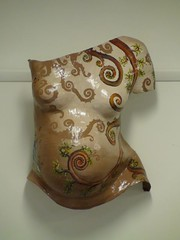 HJ Gillespie Painted Swirls belly cast (www-bellyoflove-com-au) Tags: by painted belly gillespie casting hj