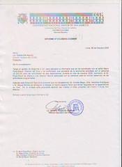 Carta Director Ejecutivo