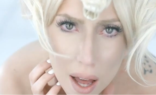 lady gaga bad romance without makeup