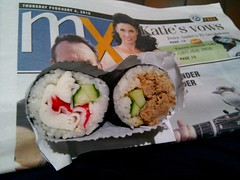 Today Special California Roll, Spicy Tuna Sushi - Diane Sushi AUD1.60, AUD1.80 - Nexus One
