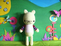 ingrid (rosie.ok) Tags: bear animal kids fun sweater doll play teddy handmade crochet craft crafty dolly amigurumi artisan rosieok