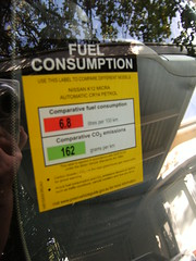 Micra fuel consumption (Suzieboots) Tags: pink car nissan elvis micra firstcar belgianchocolate citycollection londonrose