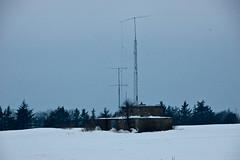 German WWII Radarstation (Peter Bromley) Tags: snow storm station nikon d70 very nikond70 nazi wwii snowstorm deep german nikkor blizzard radar sne secondworldwar bornholm bromley snestorm