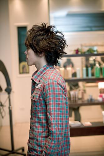 【 男生髮型 】 超視覺線條