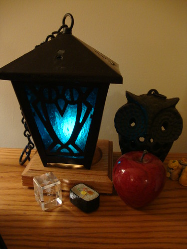 My Bryn Mawr lantern, all electrified