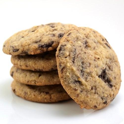 Orange Almond Chocolate Cookies