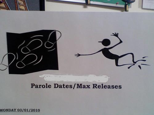 Parole Dates/Max Releases