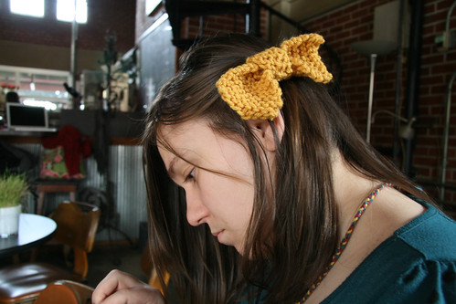 Knit Bow Tutorial