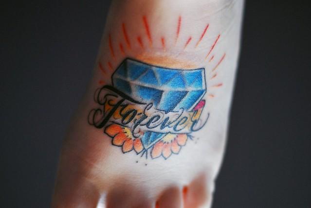 New tattoo! By Matt Davis at Main Street Tattoo and Body Piercing.