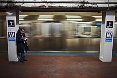 (Brian Hagy) Tags: chicago motion blur public train underground subway washington cta platform tunnel transportation transit