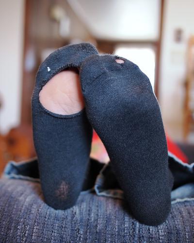 Holey Socks ~ 75 of 365