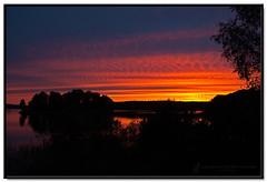 Sunset at our cottage (Ratatusk) Tags: sunset europa europe sweden småland event sverige region kalmar solnedgång swe yxern