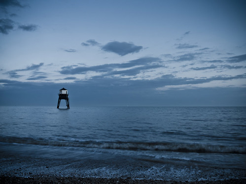 Dovercourt Lighthouse Dusk