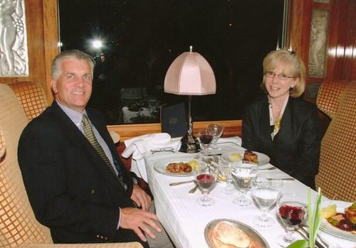 Simon Pielow & Fay Lejeune, Train Chartering & the Luxury Train Club