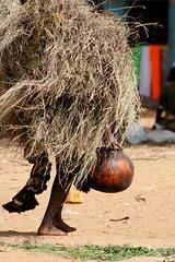 Working woman (Kerstin Mattys) Tags: travel people usaid market traditional culture tribal butter tribes omovalley tradition ethiopia tribe markt ethnic bana hamer calabash omo thiopien dimeka ethnie kalabasse ekicholong