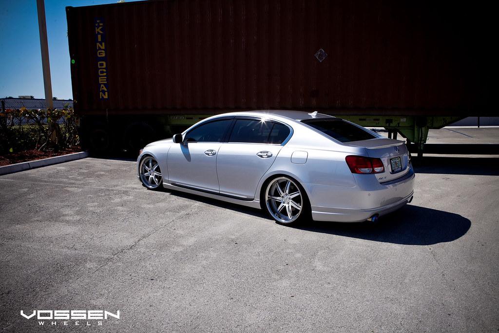 Used Lexus Gs 350 >> Silver Lexus GS slammed on the new Vossen VVS-086 (Matte Silver) - 6SpeedOnline - Porsche Forum ...