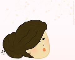 "my Sinurita ="") ♥ (Muneerah.Edl) Tags: cute art girl digital drawing tablet رسم عروسة رقمي"