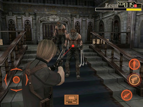 Resident Evil 4 iPad screenshot 6