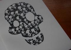Skull 093 ([rich]) Tags: moleskine pen ink rich doodle skullnation skulladay umetoys