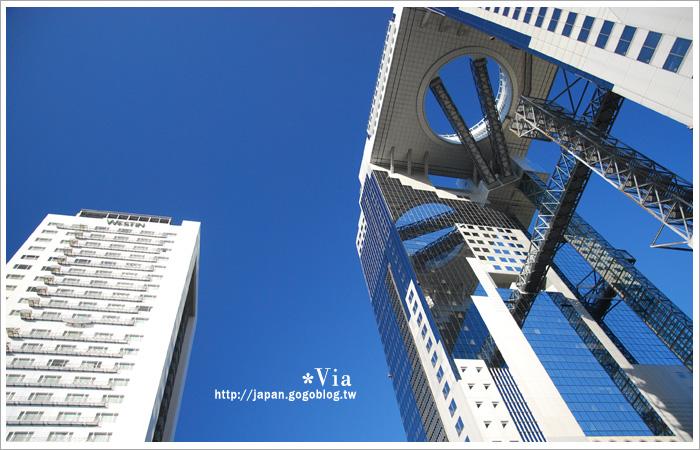 【大阪自由行】跟著via遊大阪~大阪梅田空中庭園展望台3