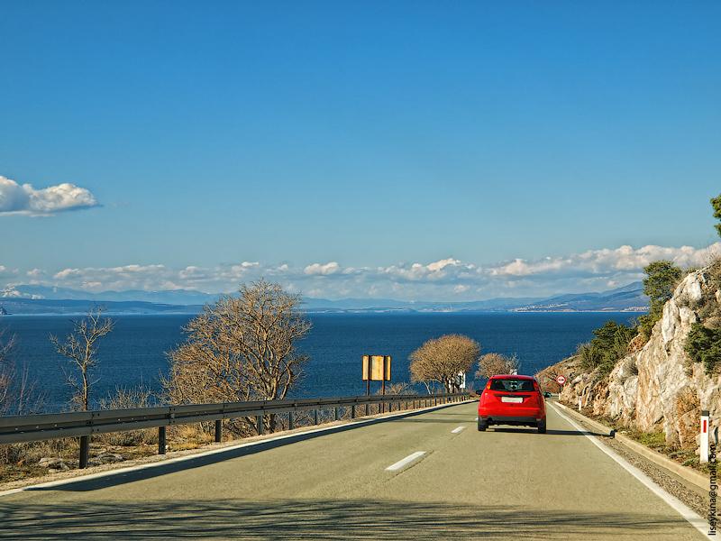 Road. Croatia