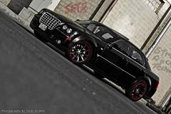 (Talal Al-Mtn) Tags: street blue red black cars car canon automobile technology automotive racing kuwait hemi rims v8 q8 srt8 kwt   stateofkuwait canon450d  lm10 inkuwait  talalalmtn  bytalalalmtn talalalmtnphotography photographybytalalalmtn